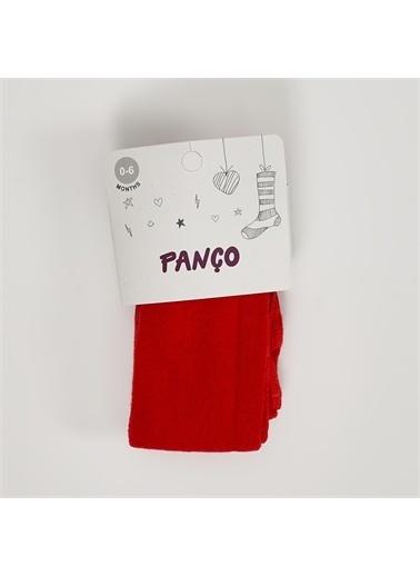 Panço Kız Çocuk Külotlu Çorap 19236000008 Kırmızı